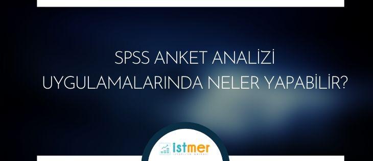 spss anket analizi