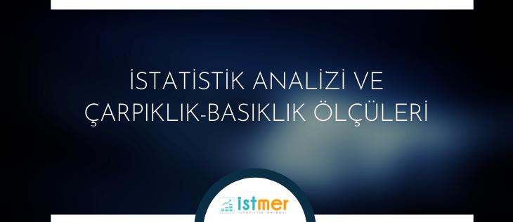 istatistik analizi çarpıklık basıklık