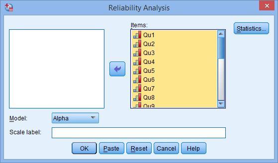 spss güvenilirlik analizi