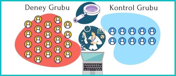 deney ve kontrol grupları