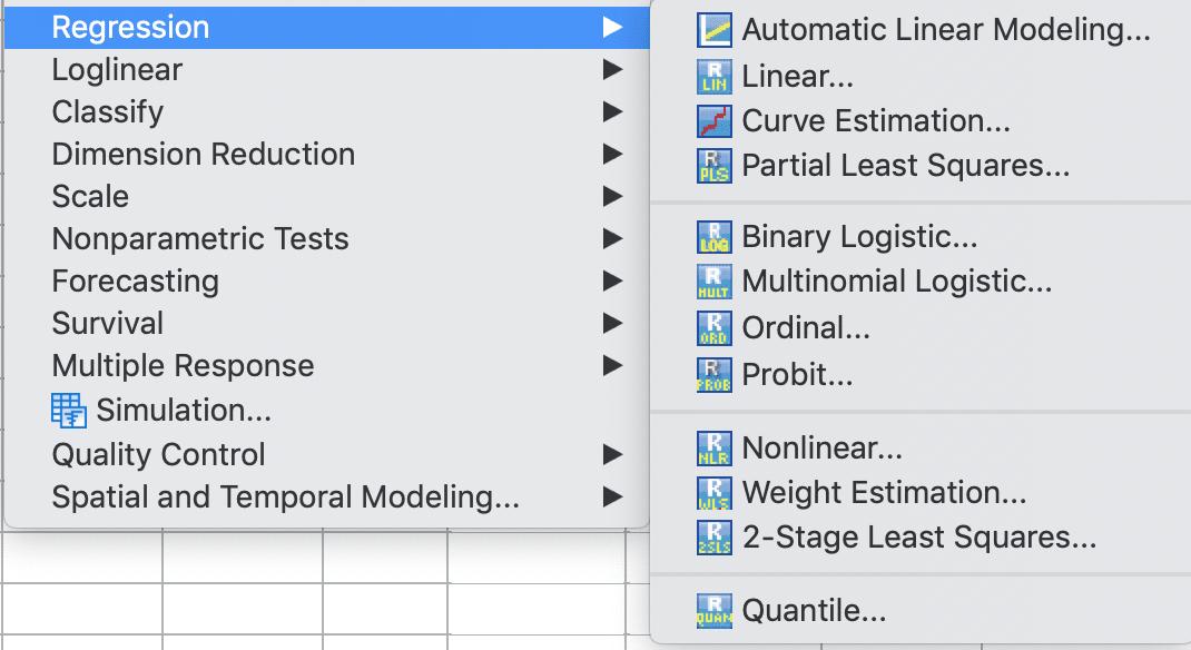 regression linear logistic